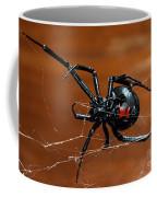 Black Widow Spider Coffee Mug