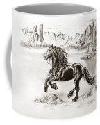 Black Wind Coffee Mug