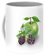 Blackberries And Green Apple Coffee Mug