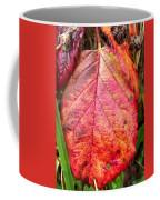 Blackberry Leaf In The Fall 3 Coffee Mug