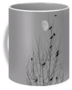 Blackbirds By The Moon Coffee Mug