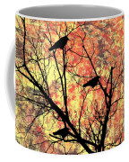 Blackbirds In A Tree Coffee Mug