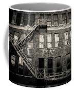 Blackened Fire Escape Coffee Mug