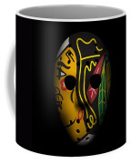 Blackhawks Goalie Mask Coffee Mug