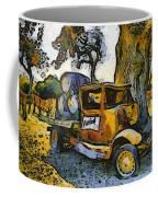 Blackjack Winery Truck Santa Ynez California Coffee Mug