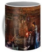 Blacksmith - Cooking With The Smith's  Coffee Mug by Mike Savad