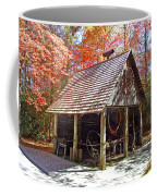 Blacksmith Shop In The Fall Coffee Mug
