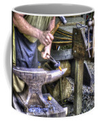 Blacksmith Working Iron V1 Coffee Mug
