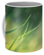 Blades Of Grass Bathing In The Sun Coffee Mug