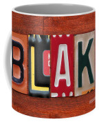 Blake License Plate Name Sign Fun Kid Room Decor Coffee Mug