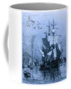 Blame It On The Rum Schooner Coffee Mug by John Stephens
