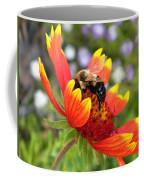 Blanket Flower And Bumblebee Coffee Mug