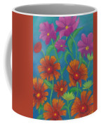 Blanket Flowers And Cosmos Coffee Mug