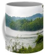 Blanket Of Fog On Clinch River  Coffee Mug