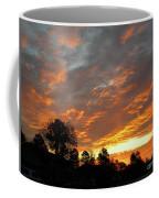 Blazing Christmas Sunset Coffee Mug