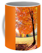 Blazing Tree Coffee Mug