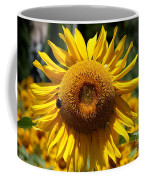 Blazing Yellow Sunflower Coffee Mug