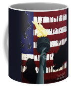 Bleeding For Freedom Coffee Mug