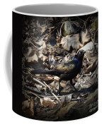 Blending In Metallic Starling Coffee Mug