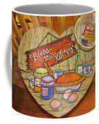 Bless This Kitchen Coffee Mug