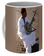 Blind Man Place Djemna Al Fna Marrakesh Morocco Coffee Mug by Ralph A  Ledergerber-Photography