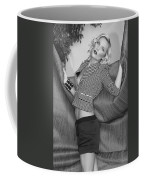 Blonde Movement Bw Palm Springs Coffee Mug
