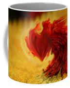 Blood Red Heart Coffee Mug