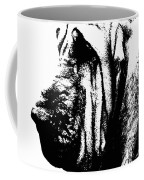 Bloodhound - It's Black And White - By Sharon Cummings Coffee Mug