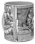 Bloodletting, C1500 Coffee Mug