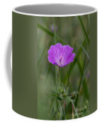 Bloody Geranium Wild Flower Coffee Mug