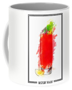 Bloody Mary Cocktail Marker Sketch Coffee Mug