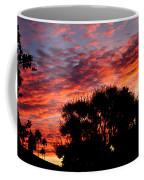 Bloody Sunset Over Palm Desert Coffee Mug