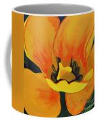 Bloomed Yellow Tulip Coffee Mug