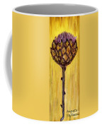 Blooming Artichoke - Cynara Cardunculus Coffee Mug