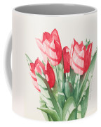 Sunlit Tulips Coffee Mug