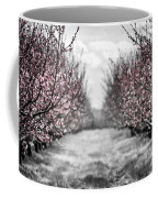 Blooming Peach Orchard Coffee Mug