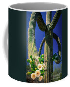 Blooming Saguaro Coffee Mug