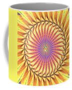 Blooming Seasons Kaleidoscope Coffee Mug by Derek Gedney