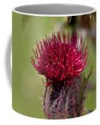 Blooming Spear Thistle Coffee Mug