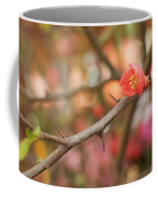 Blossom Amidst The Thorns Coffee Mug