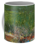 Blossoming Tree In The Garden Coffee Mug