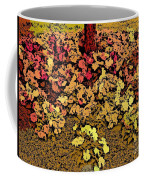 Blossoms And Tree In Yellow And Red Coffee Mug