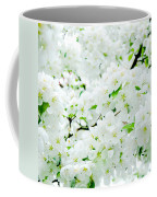 Blossoms Squared Coffee Mug
