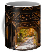 Blow-me-down Covered Bridge Cornish New Hampshire Coffee Mug by Edward Fielding