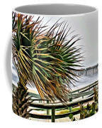 Blowin At The Beach Coffee Mug
