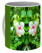Blowing In The Breeze Mirror Image Coffee Mug