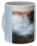 Blowing Rocks Sunrise Explosion Coffee Mug by Mike  Dawson