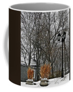 Blowing Snow Coffee Mug