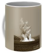 Blowing Up Arch Rock In San Francisco Bay Aug. 16, 1901 Coffee Mug