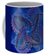Blue 3 Coffee Mug